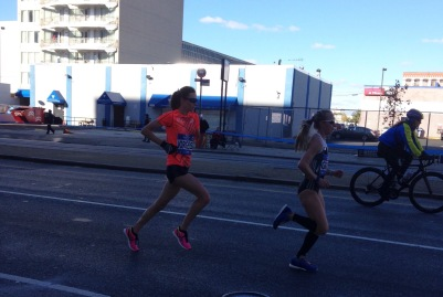 two weeks out: getting psyched about my marathon by watching gwen jorgenson crush hers
